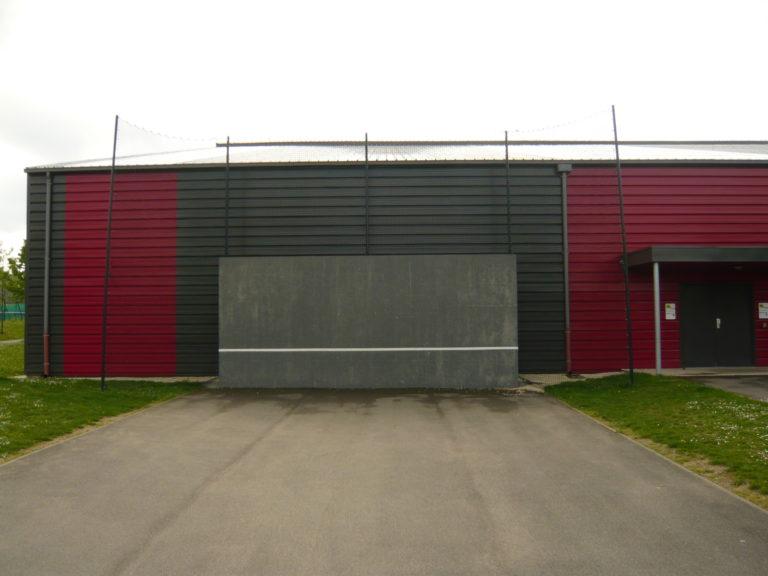 Mur d'entraînement